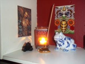 Rhea/Kybele/Ge/Jord shrine