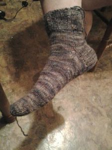 My first sock!
