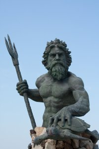 Judgy Poseidon is judging you.